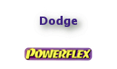 Powerflex Buchsen Dodge