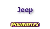 Powerflex Buchsen Jeep