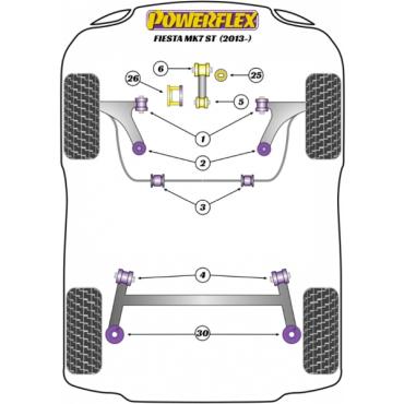 PFF19-2026 Powerflex Transmission Mount Insert